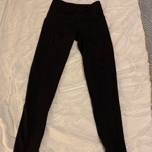 Victoria's Secret black active leggings size S